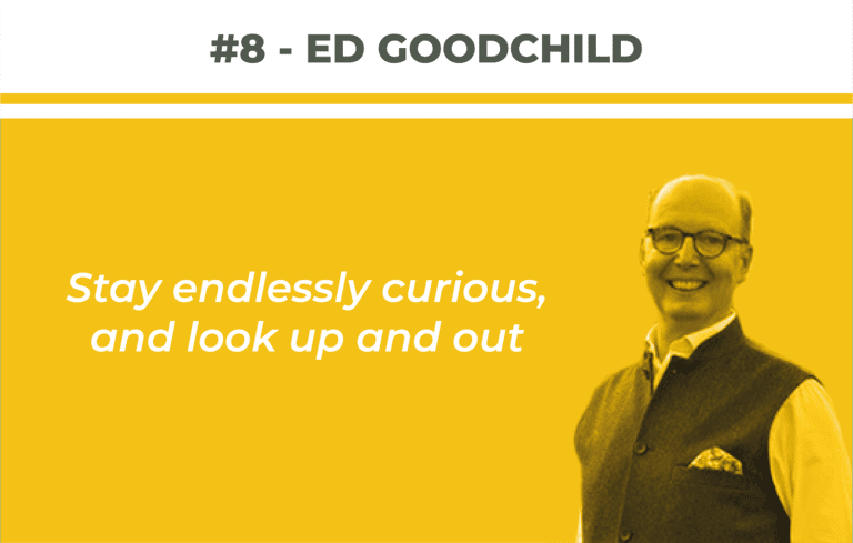 Portfolio Journey Series: Ed Goodchild