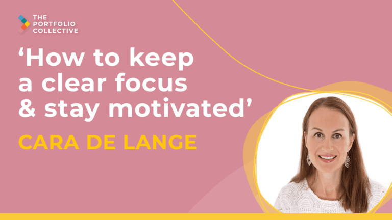 How to keep a clear focus and stay motivated