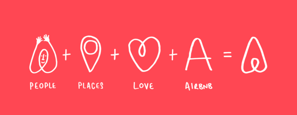 Airbnb - authentic brand