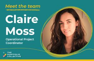 Meet the team: Claire Moss
