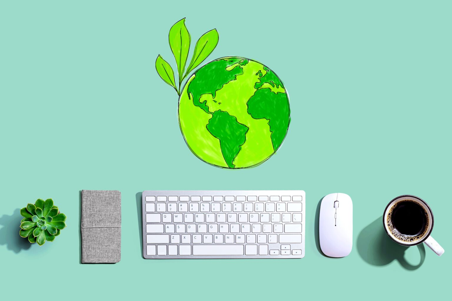 4 Ways to create a more eco-friendly home office