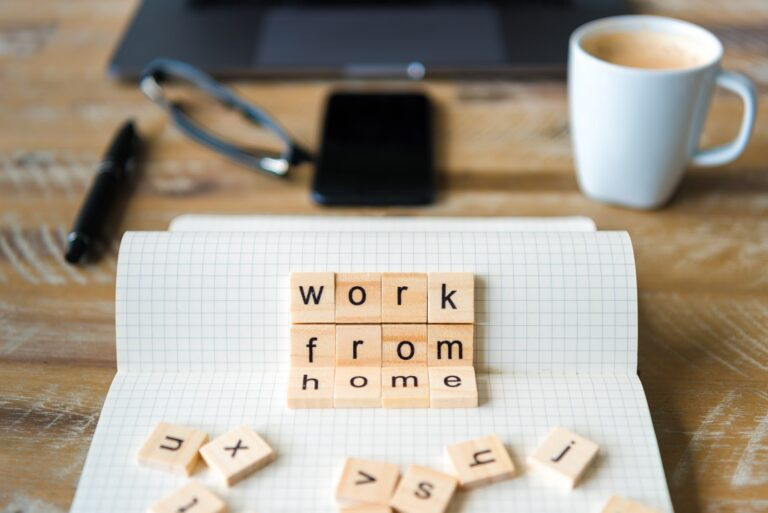 work from home habits for better mental health