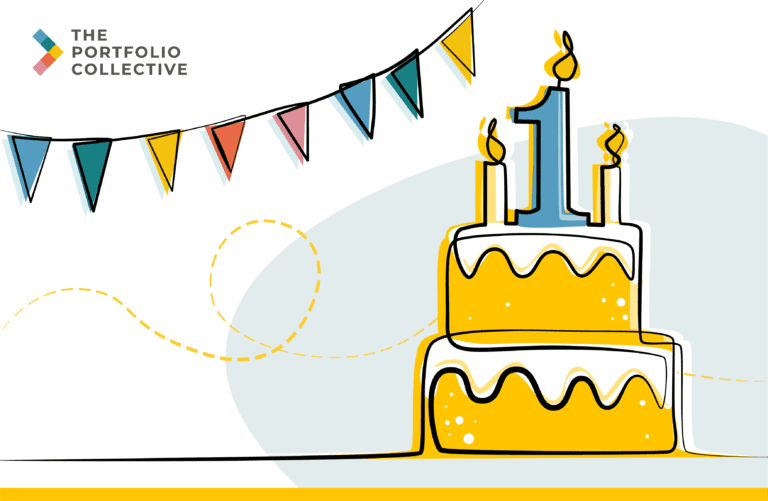 The Portfolio Collective is one year old