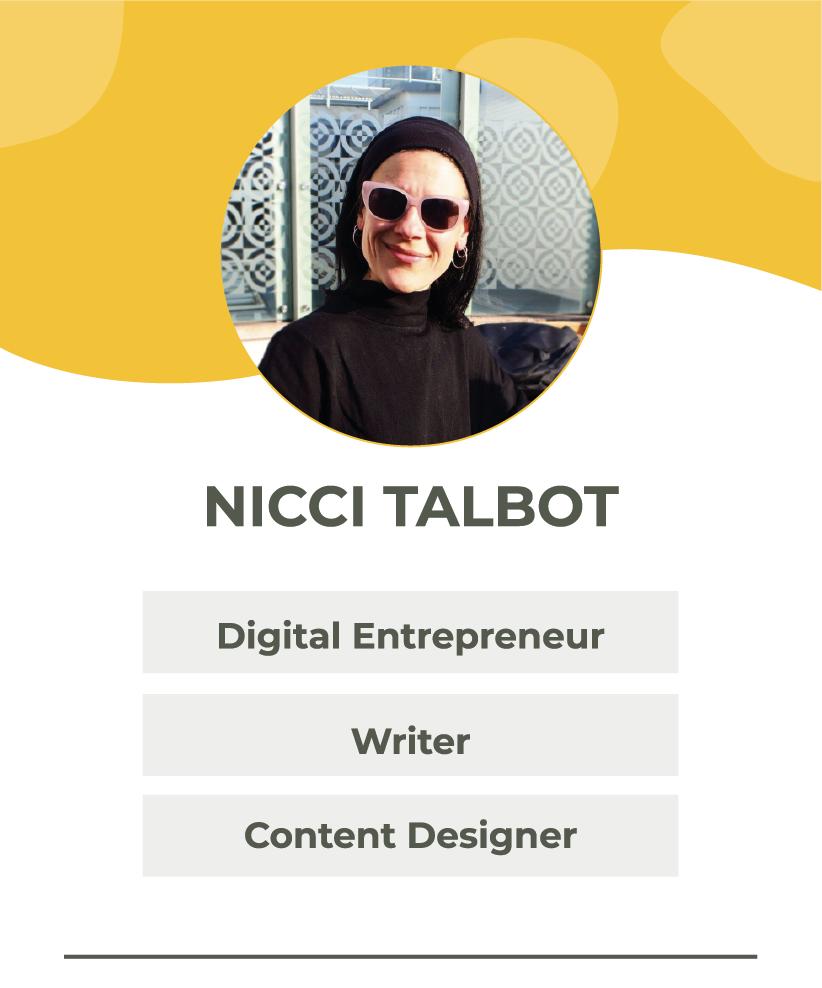 Nicci Talbot | The Portfolio Collective