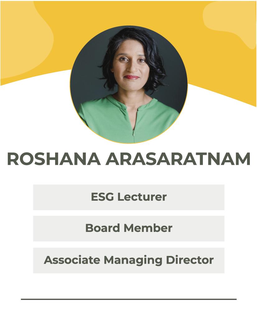 Roshana Arasaratnam | The Portfolio Collective